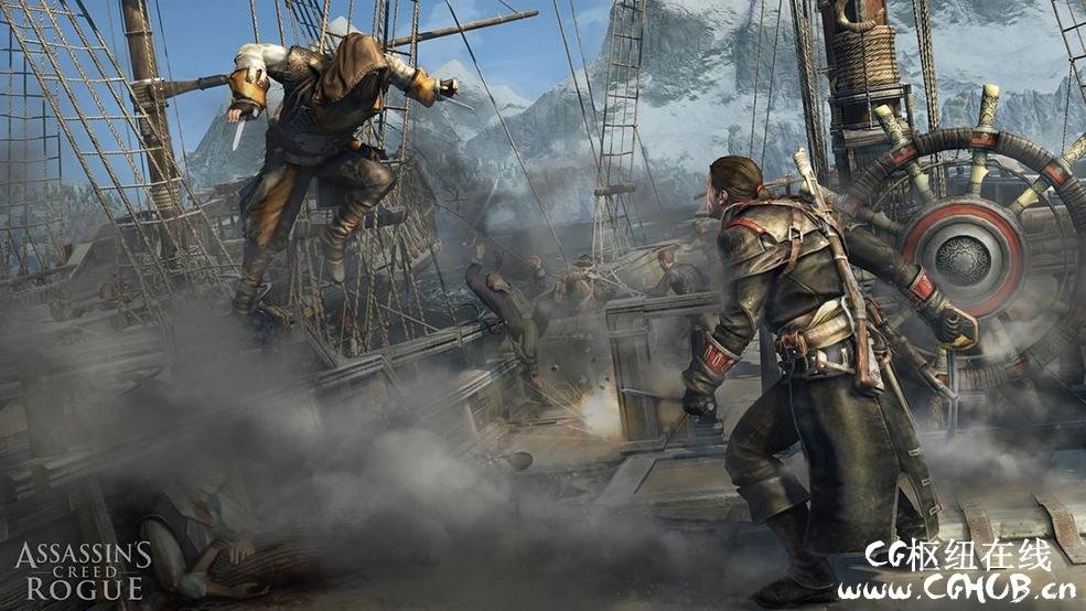 152套C4D动作冒险游戏《刺客信条3》Assassin's Creed III角色模型合集