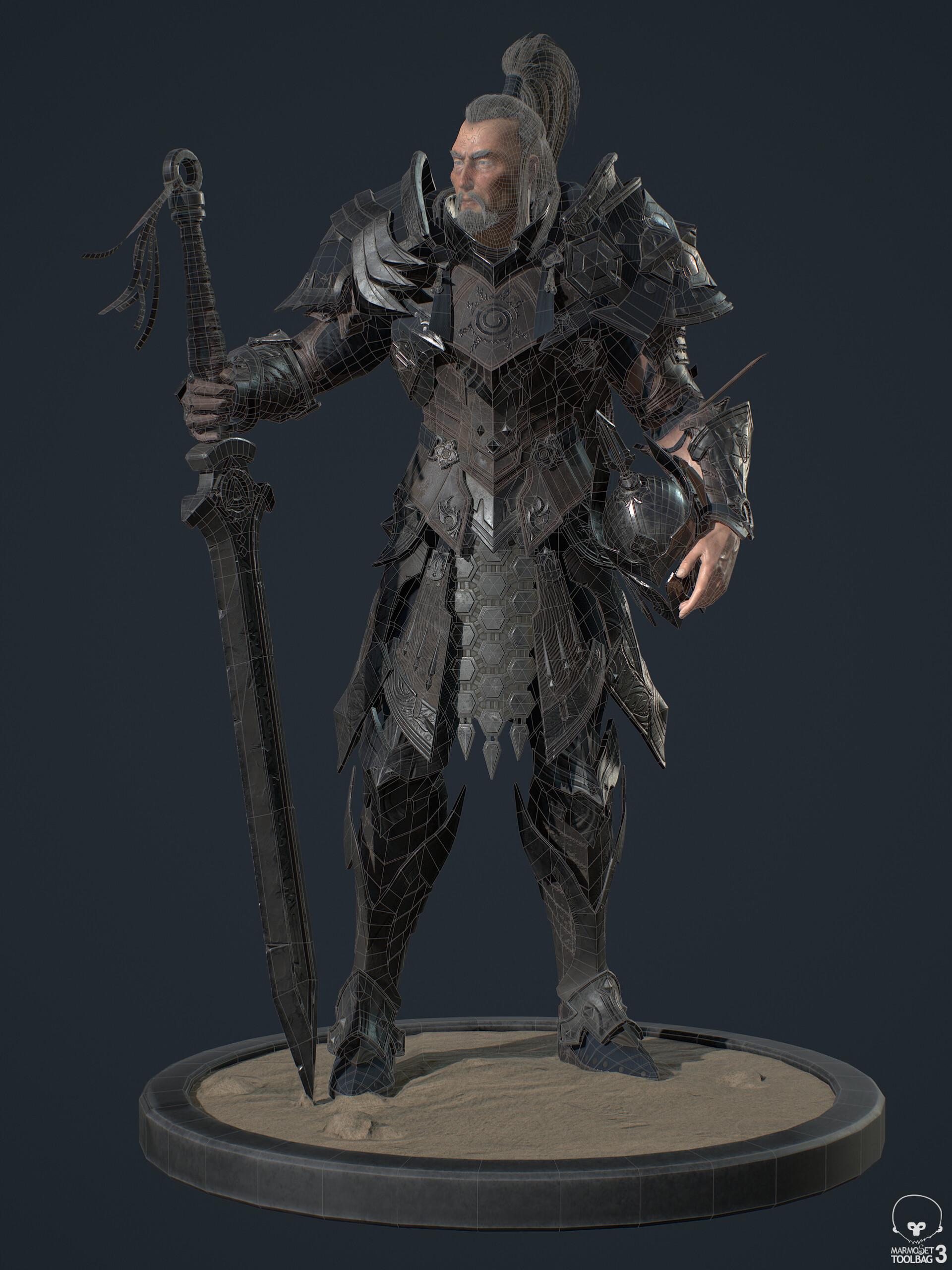 Khalkha次世代角色模型下载。精品首发
